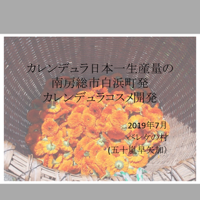 カレンデュラコスメ開発vol.4