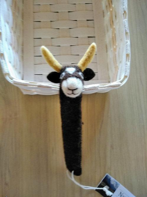 キルギス羊毛フェルト しおり ヤク