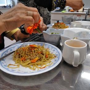 野菜ソムリエ安西理栄さんの料理教室