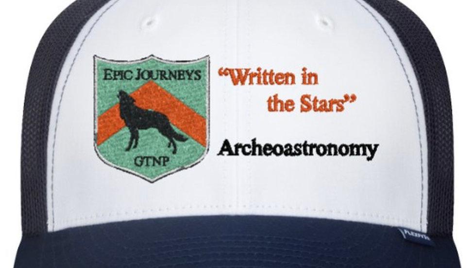 White/Navy Trucker Hat