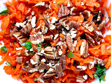 Salad Recipe: A Few Shredded Carrots