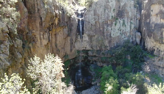 Pueblo Canyon Falls