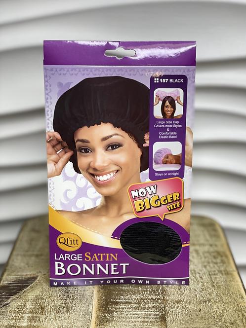 Large Satin Bonnet