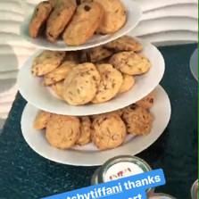 Vegan cookies by IG @sweetsbytiffani