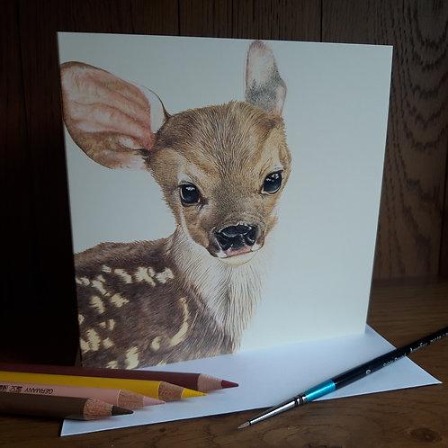 Bambi Greeting card