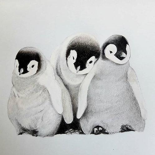 Baby Penguins print