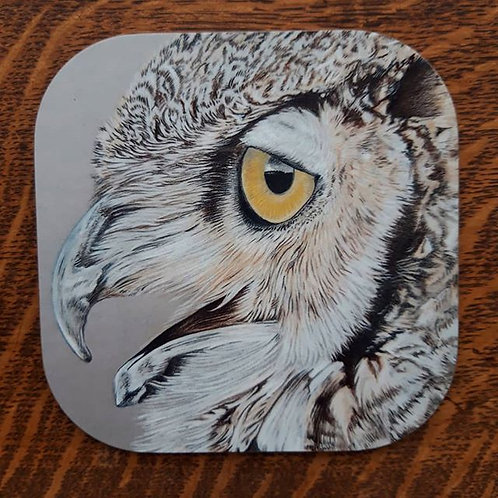 """Mr Owl"" Coaster"