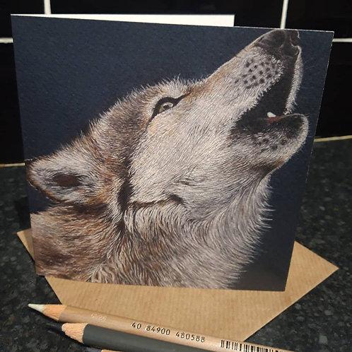 Mr Wolf greeting card