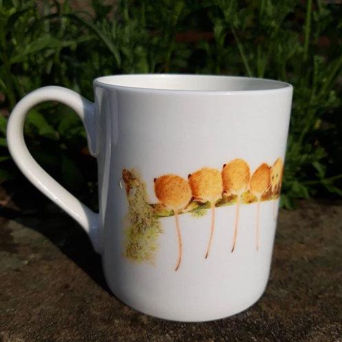 Harvest Mice Fine bone china mug