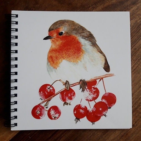 Mrs Robin notepad