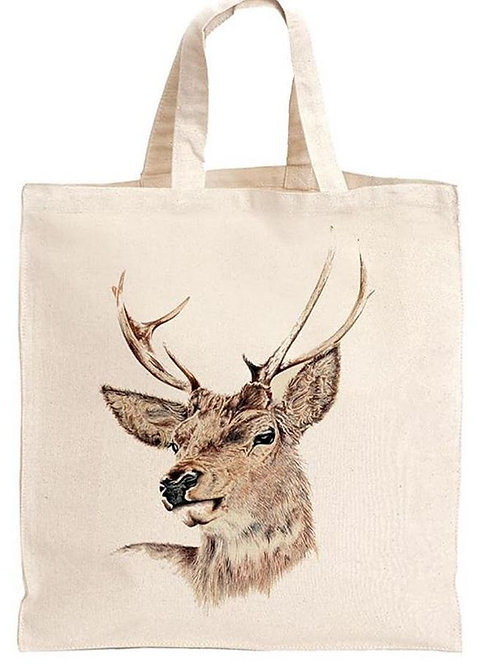 """""""Stag"""" Eco friendly tote shopping bag"""