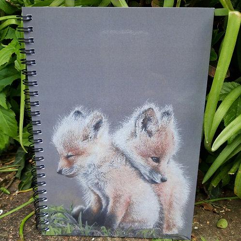 """"""" Baby Fox's """" Notepad"""