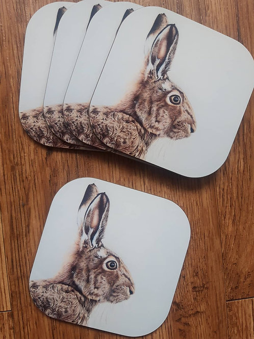 Mr Hare coaster