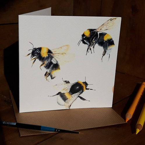 Busy Bee's Greeting card