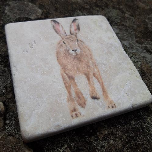 Running Hare Marble coaster