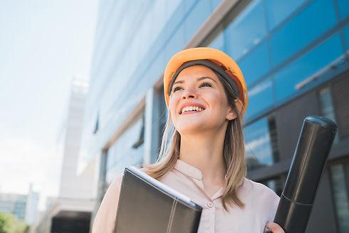 professional-architect-woman-standing-ou