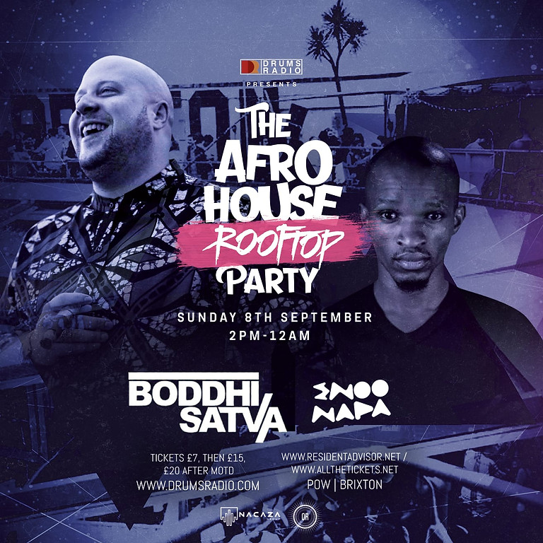 The Afro House Rooftop Party