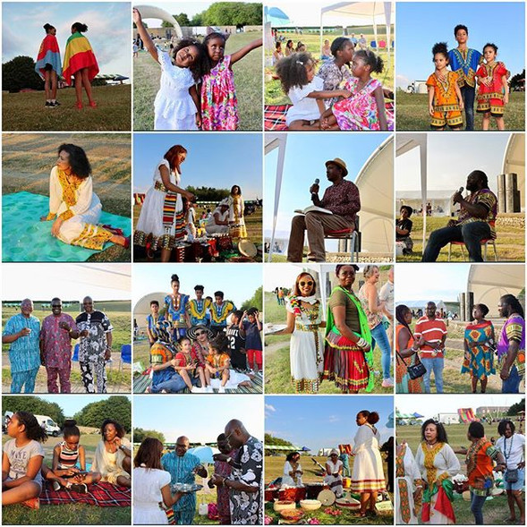 warm up African Diaspora Day. _The firs