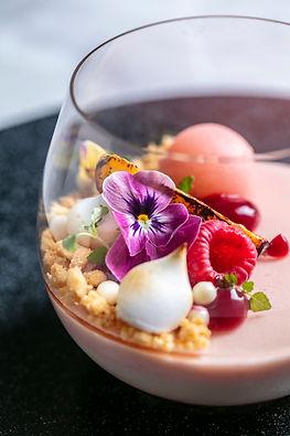 Quaglino's_peach_&_nectarine_trifle,__