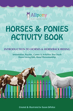 Horses and Ponies Activity Book