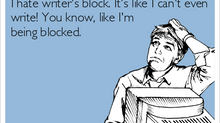 November is a Terrible Month for Writer's Block