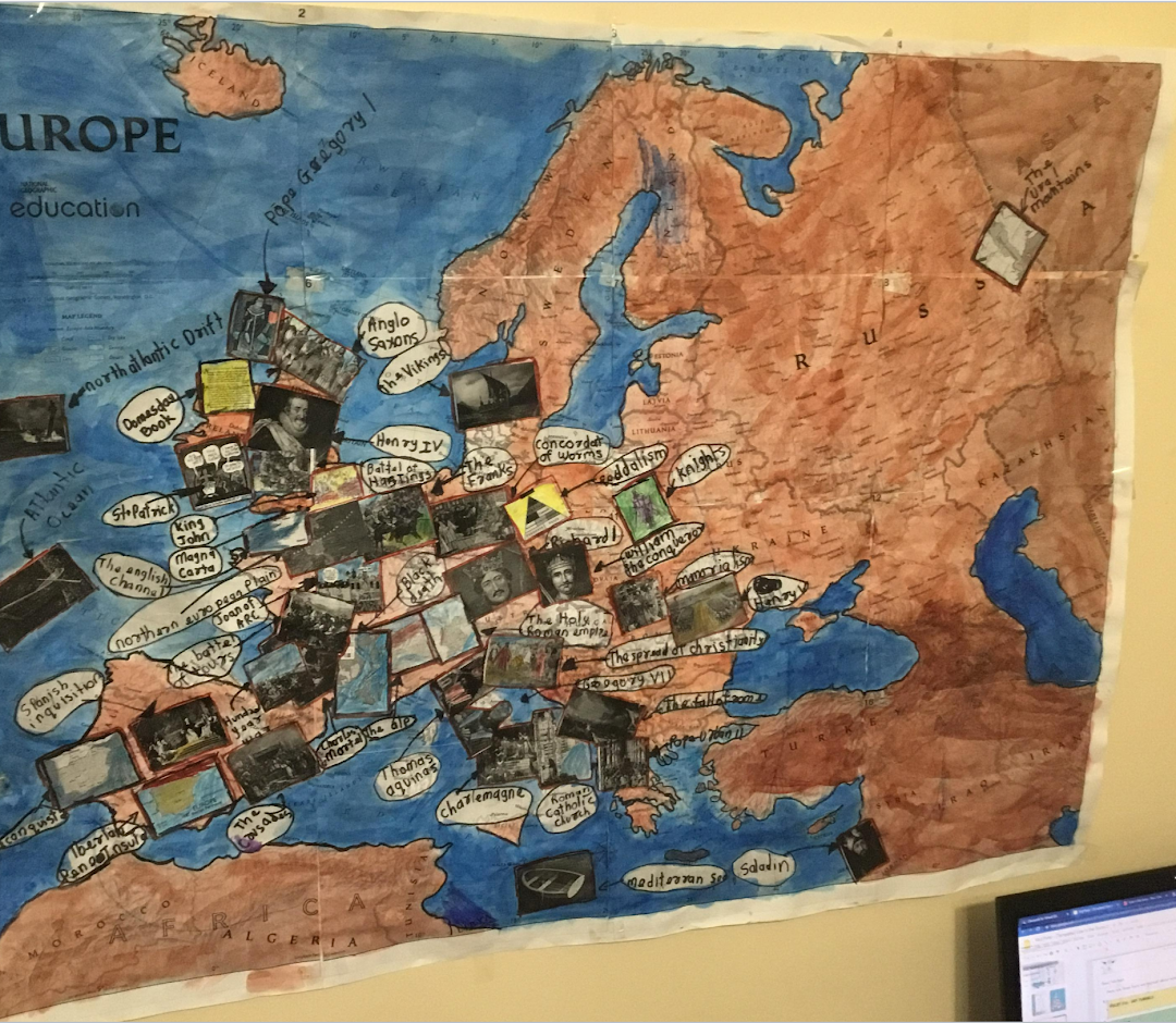 Map of Medieval Europe Project