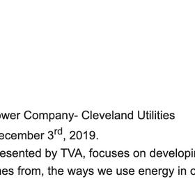 Melton Energy TVA