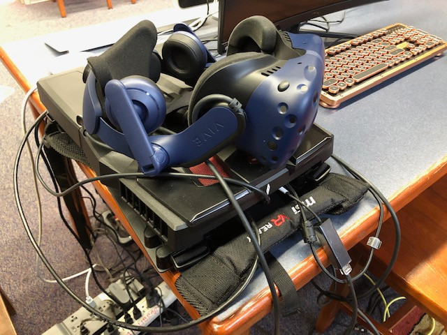 Virtual Reality Backpack & Goggles