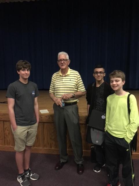 NASA Engineer, Dick Hagar, Guest Speaker