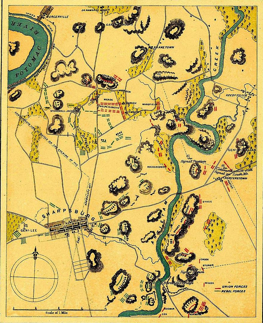 common core social studies companion civil war sharpsburg antietam vicinity