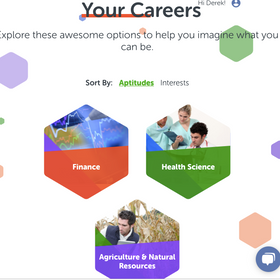 Top Three Career Suggestions