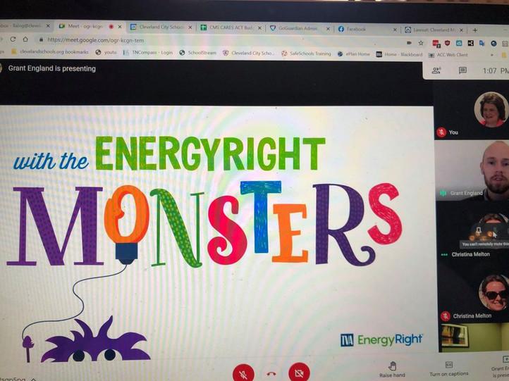 Virtual Presentation from TVA on Energ