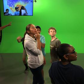 TV Studio Field Trip