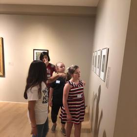 Hunter's Art Museum Field Trip