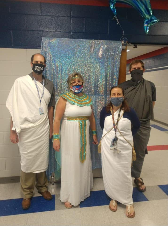 All 8th Grade Subject Teachers Enjoyed Playing a Role