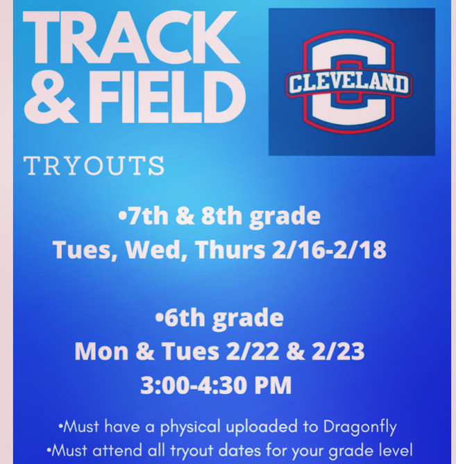 Track & Field Tryouts