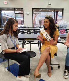 Interview with Guest Miss Tennessee After Assembly