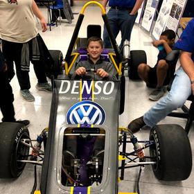 Thrill of a Built Race Car