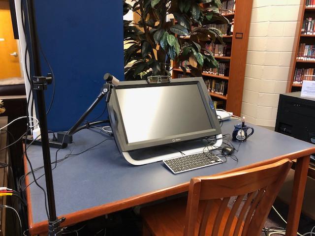 Virtual Reality Computer Station
