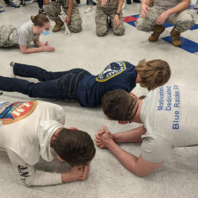 CHS ROTC Mentors at CMS