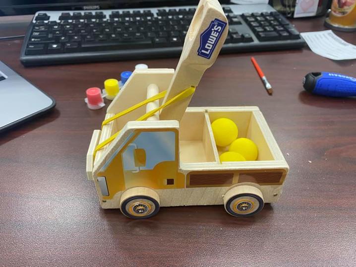 Building a Cataput
