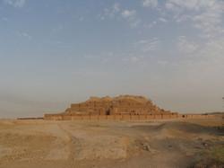 A Mesopotamian Ziggurat