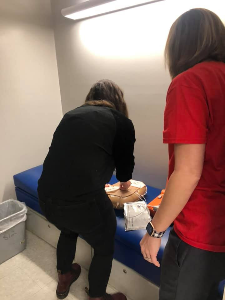 Ongoing AED/CPR Drill Training