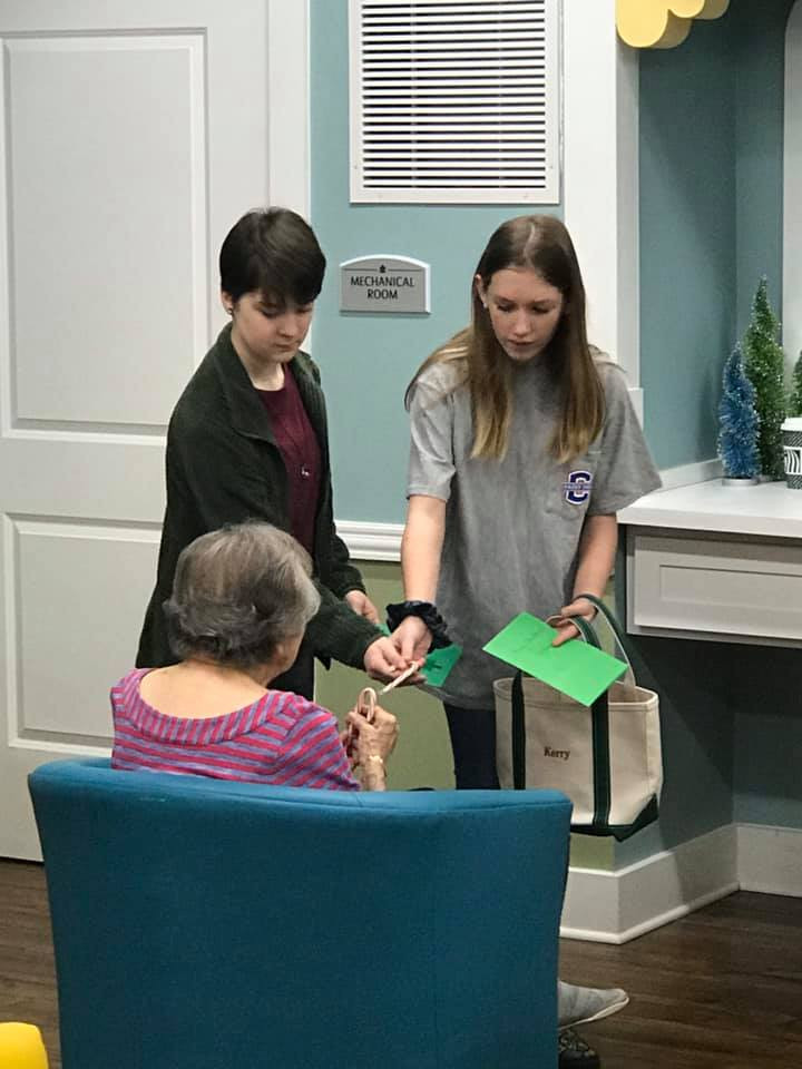 Assisted Living Facility Visit