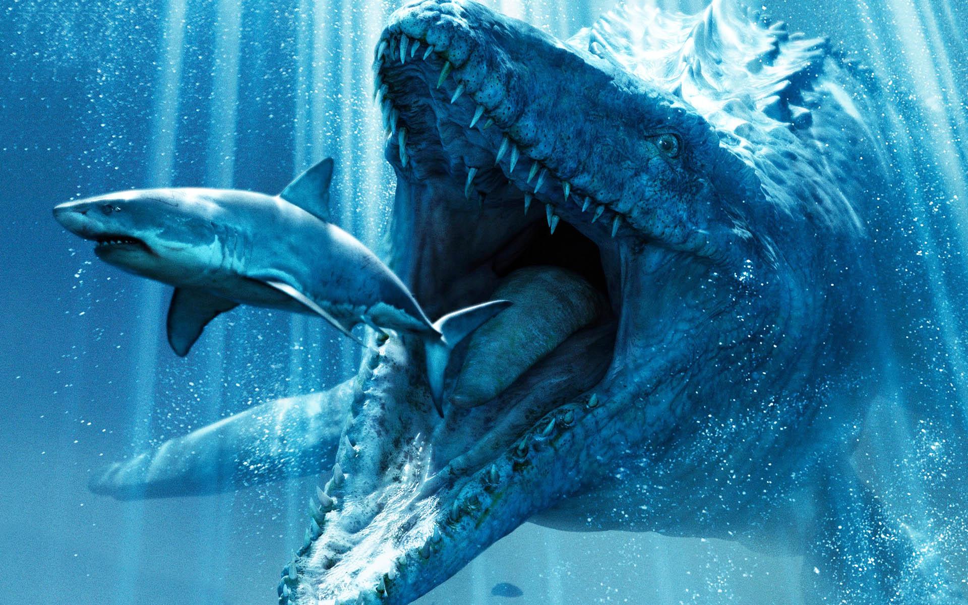 Underwater Dinosaurs in Jurassic World