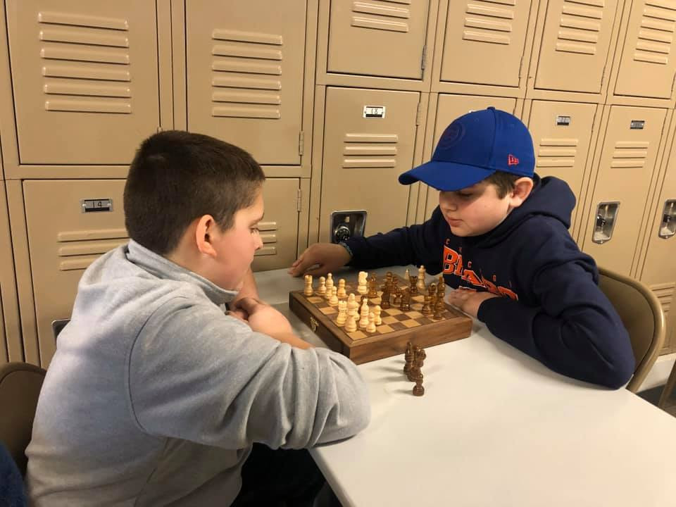 Practice at Chess Club