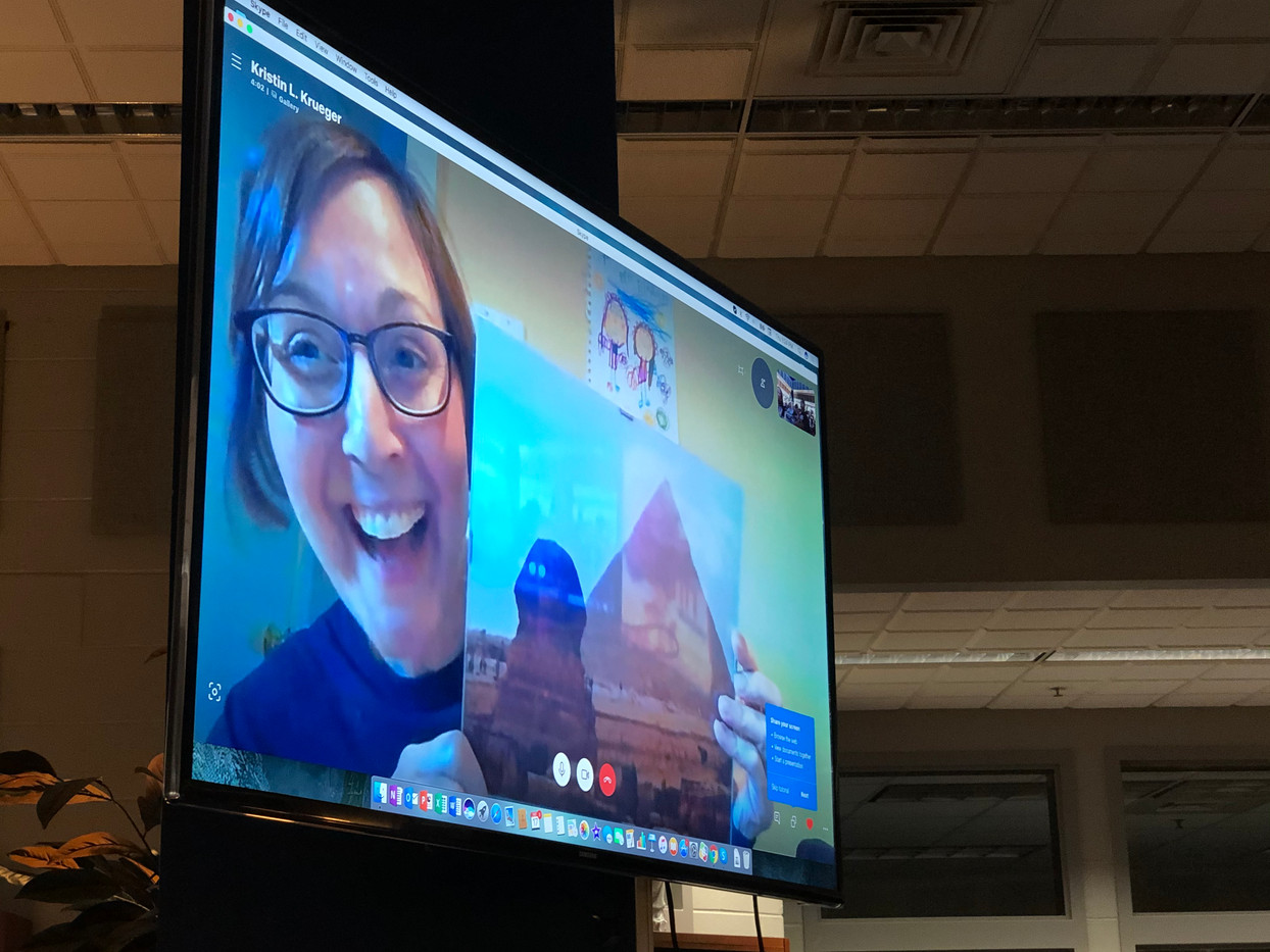 Egyptologist Skype