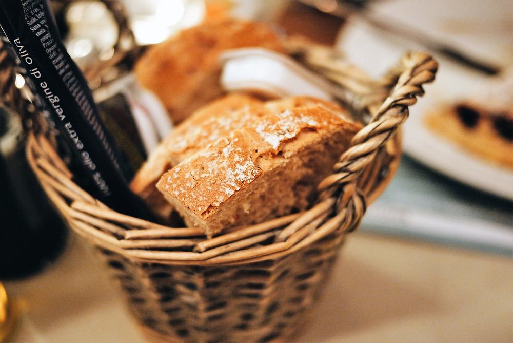 Das Ristorante Centrale in Losone serviert nur frisches, knuspriges Brot.