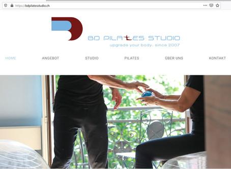 Frischer Content für BD Pilates Studio