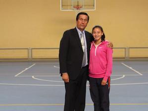 Atleta lotina va por el oro a Colombia